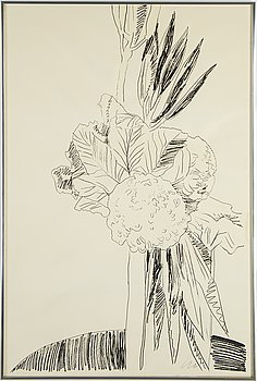ANDY WARHOL,Silkscreen 1974, on Arches paper, signed with initials in pencil, and also signed and numbered 99/250 verso.