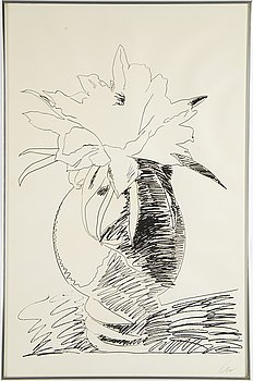 ANDY WARHOL, Silkscreen 1974, on Arches paper, signed with initials in pencil, and also signed and numbered 99/250 verso.