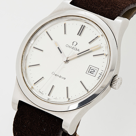 Omega, genéve, wristwatch, 36 mm