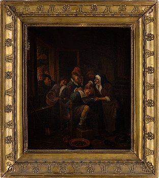 FLEMISH SCHOOL, 18TH Century, oil on canvas.