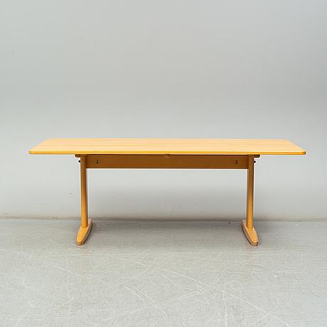 A 'shaker' dining table by børge mogense, c.m madsen, denmark