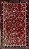 A carpet. old west persian, around 500 x 285 cm