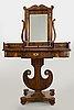 Toilettebord, karl johan, 1800-talets första del.