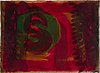 Howard hodgkin, lift ground etching with aquatint and carborundum, signed 67/100. dated -86.