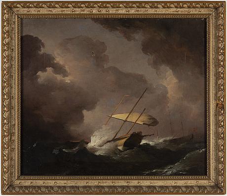 Joseph vernet, circle of, oil on canvas.