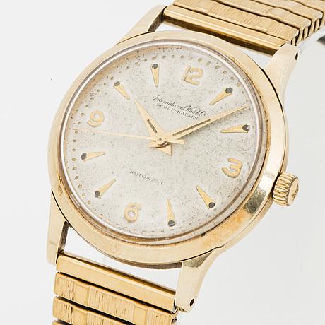 International watch co, (iwc), wristwatch, 33 mm.