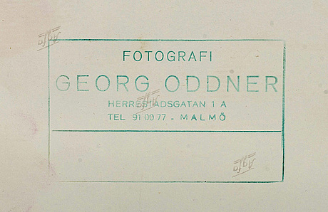 Georg oddner, foto