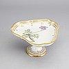 "A ""flora danica"" porcelain plate, royal copenhagen, denmark"
