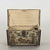 19th century painted chest