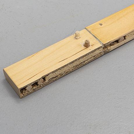 A 'maria flap' gate leg table by bruno mathsson, dux