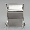 "Sigurdur gustafsson, a ""rock n roll"" stainless steel rocking chair, källemo, sweden, post 1999."