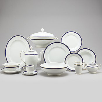 A part 'Classic' porcelain dinner and coffee service, Rosenthal (54 pieces).