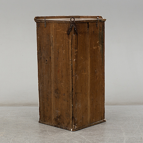 A first half of the 19th century corner cabinet