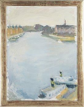 GUSTAV RUDBERG, signed on verso, oil on canvas.