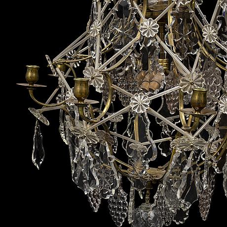 A circa 1900 chandelier