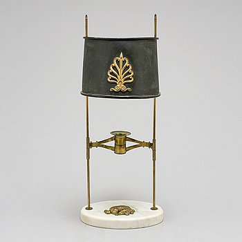 A late Gustavian-style table lamp, beginning of the 20th century.