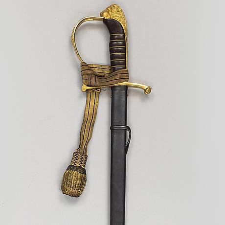 A swedish infantry officer sarbre model 1899