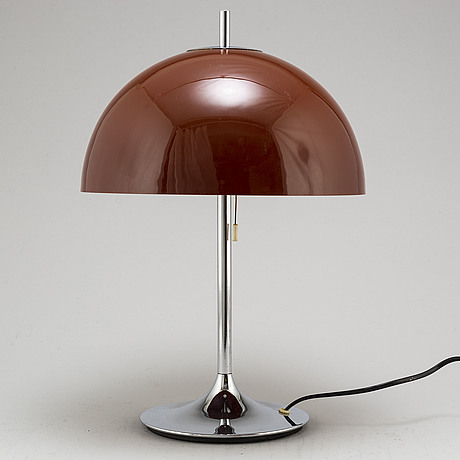 A frank bentler table lamp, denmark, 1960s