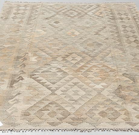A rug, kilim, ca 254 x 163 cm.