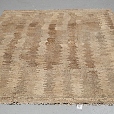 A carpet, kilim, ca 249 x 179 cm.