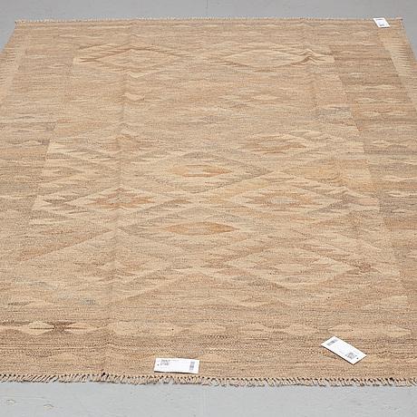 A carpet, kilim, ca 236 x 169 cm.