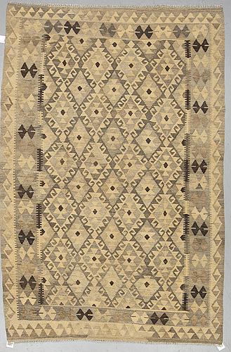 A rug, kilim, ca 242 x 160 cm.