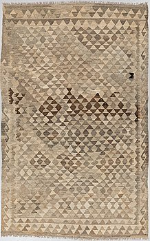 A carpet, Kilim, ca 256 x 159 cm.