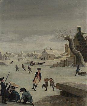 SWEDISH ARTIST, 18Th Century, oil on canvas/panel.