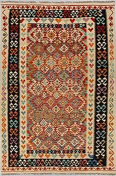 A carpet, Kilim, ca 256 x 171 cm.