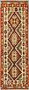A carpet, kilim, around 245 x 76 cm