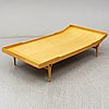 A 't303 berlin 60' daybed by bruno mathsson, firma karl mathsson, värnamo, sweden