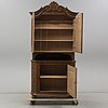 An 18th century folk art cabinet