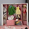 Mid 1960s barbie, ken and skipper dolls