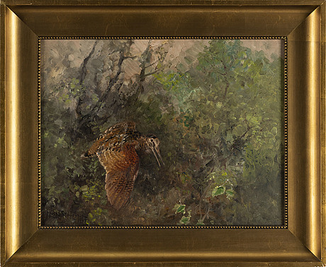 Mosse stoopendaal, oil on canvas, signed and dated 1937