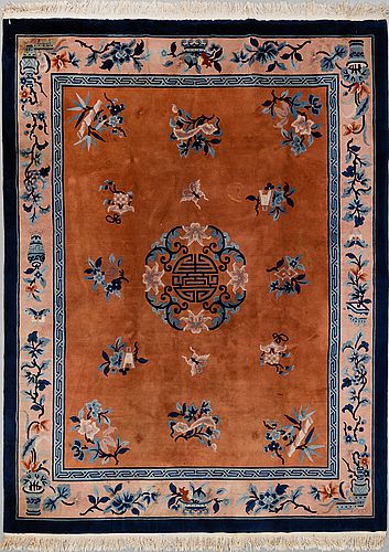 A carpet, old china, ca 309 x 247 cm