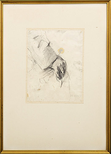 A charcoal by olle skagerfors,