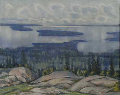 T g.tuhkanen, oil on canvas, signed