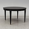 A mid 20th century gustavian style painted dining table