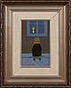 Pentti koivikko, oil on canvas panel, signed and dated  94