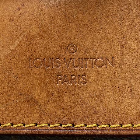 Louis vuitton, a monogram canvas 'evasion' weekendbag