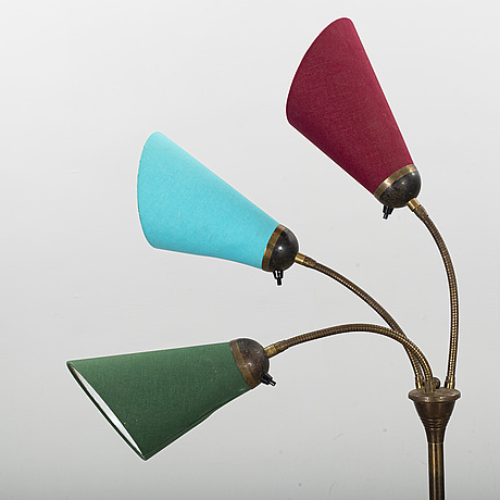 A 20th century mid floor lamp