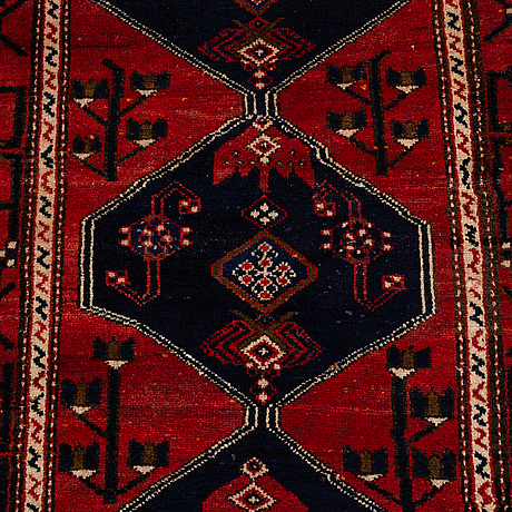A runner, west persian, ca 300 x 94 cm