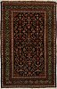 A rug, antique afshar/feraghan around 195 x 125 cm.
