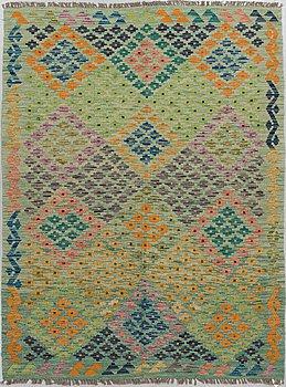 A CARPET, kilim, ca 210 x 159 cm.