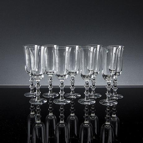 "Simon gate   champagneglas, 9 pcs, ""salut"", simon gate, orrefors"