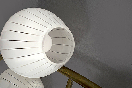 A 1950's wall lamp
