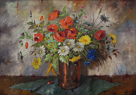 A painting by carl holger fischer,