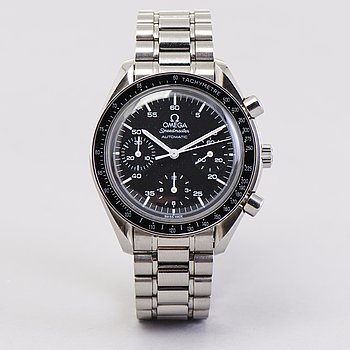 OMEGA, Speedmaster, Reduced, kronograf, armbandsur, 39 mm.