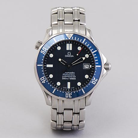 Omega, seamaster professional (300m/1000ft), chronometer, wristwatch, 41 mm,