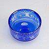 A gunnar cyrÉn orrefors glass bowl